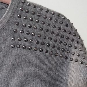 Cable & Gauge Sweaters - Studded Soft Knit top